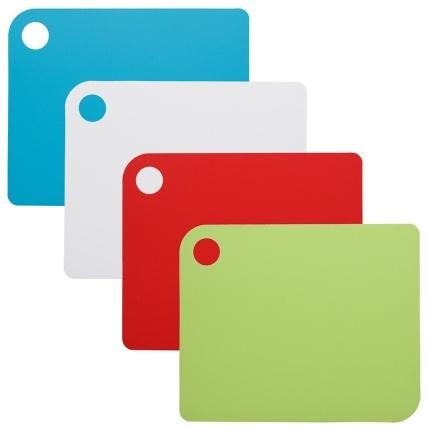 Colour Coded Cutting Mats 4pk