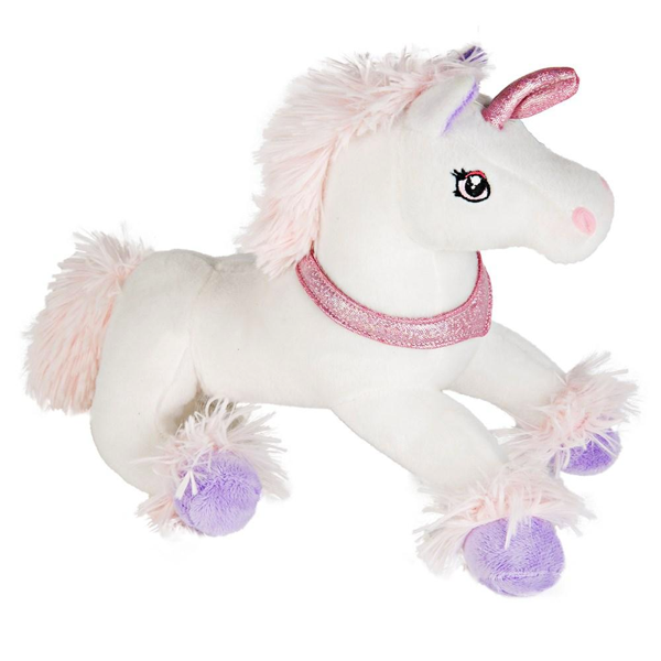Cuddly White And Pink Sparkle Unicorn