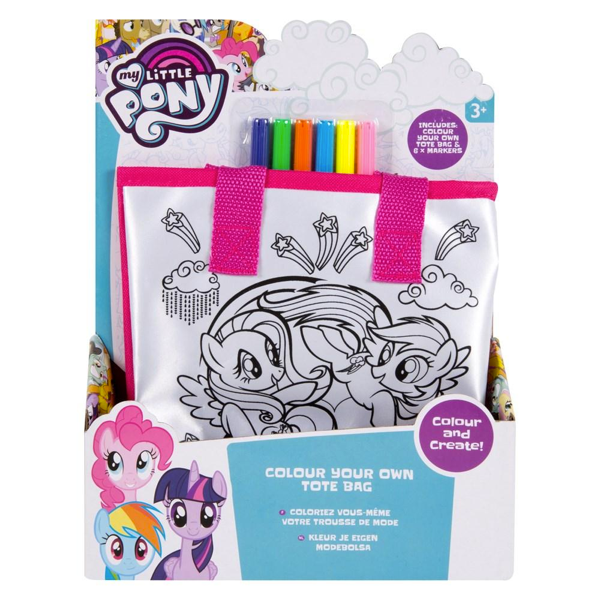 Colour Your Own My Little Pony Tote Bag