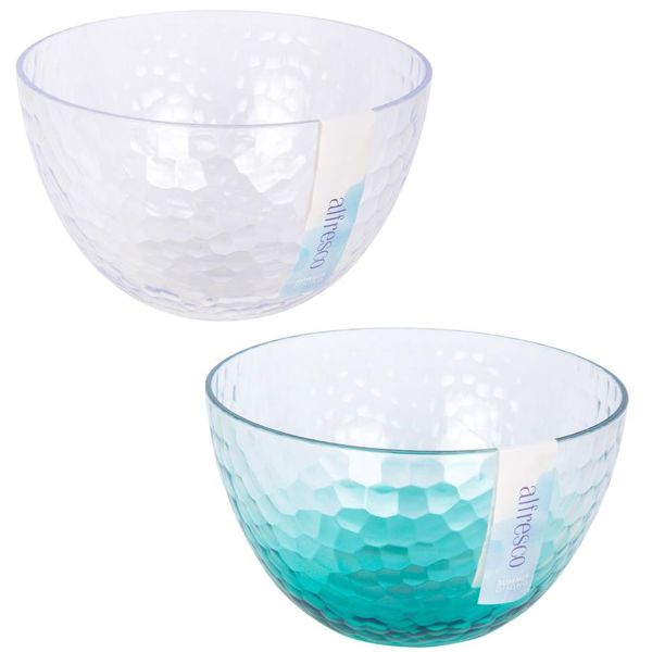 Dimpled Party Bowl