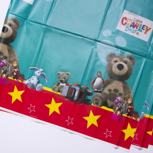 Little Charley Bear Plastic Tablecover