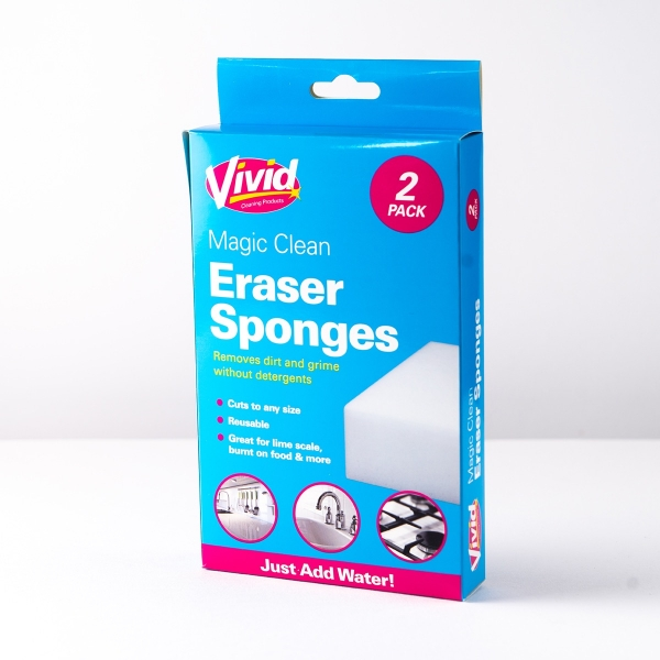 Magic Cleaning Erasers 2pk