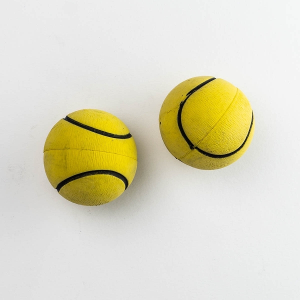 Rubber Dog Play Balls - 2pk [ARCHIVE]
