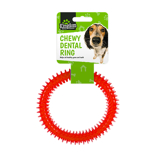 Dog Dental Chew Ring [ARCHIVE] - Blue