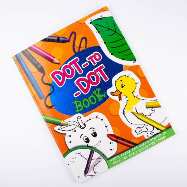 Dot-to-Dot Colouring Book [ARCHIVE]