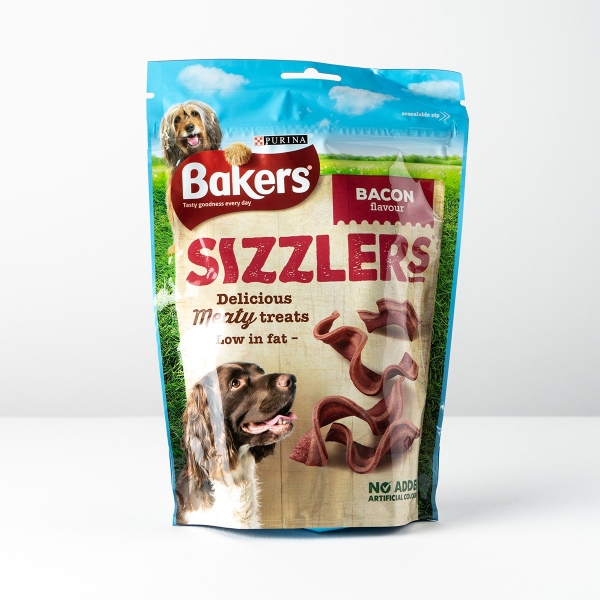 Bakers Sizzlers in Bacon Flavour