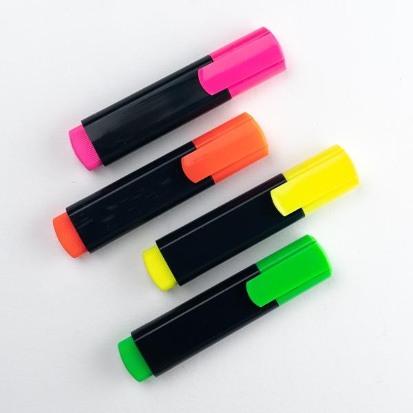 Neon Highlighter Set 4pk