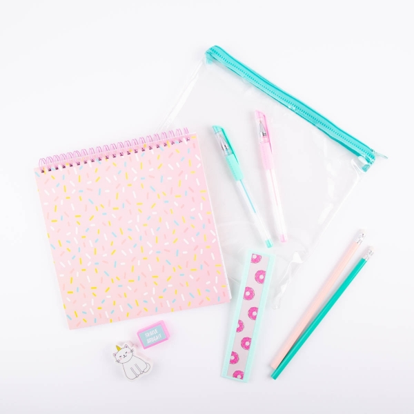 Children's Stationery Set - Cat