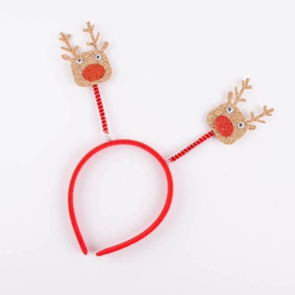 Christmas Sparkly Head Boppers - Reindeer