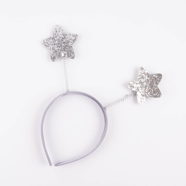 Christmas Sparkly Head Boppers- Stars