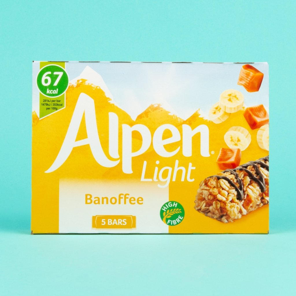 Alpen cereal bar bannoffee 3 syns