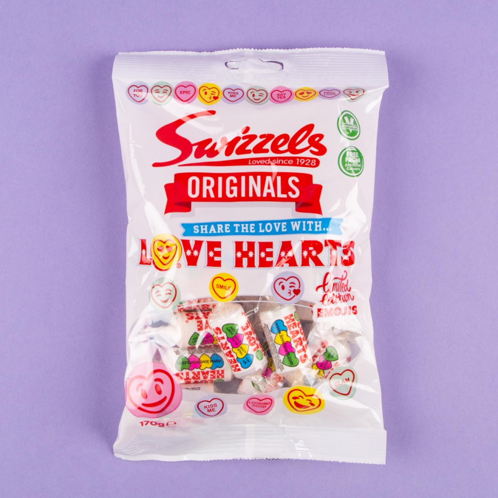 Swizzels love hearts share pack 170g