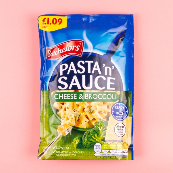 **NEW** Batchelor's Pasta 'n' Sauce 99g - Cheese and Broccoli