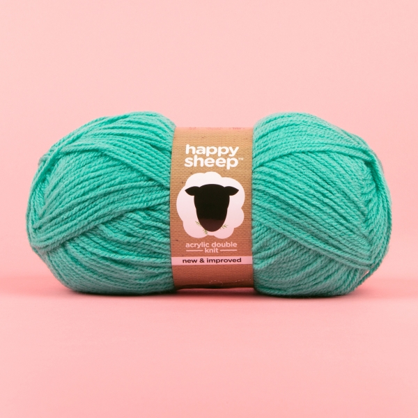 **NEW** Happy Sheep Double Knitting Yarn 100g - Turquoise