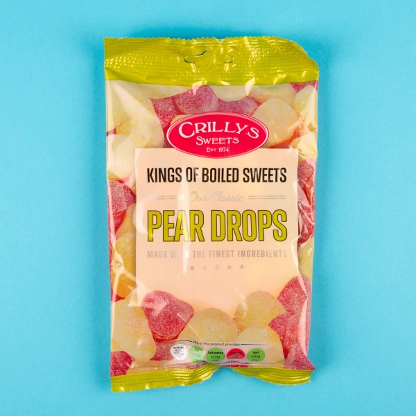 Crilly's Pear Drops 150g