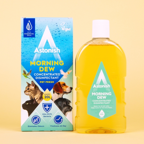 **NEW** Astonish Pet Fresh Concentrated Disinfectant 500ml