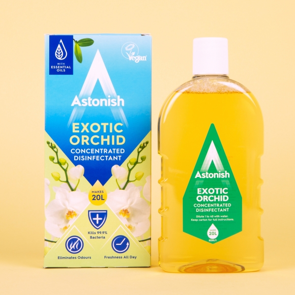 **NEW** Astonish Super Concentrated Disinfectant 500ml - Exotic Orchid