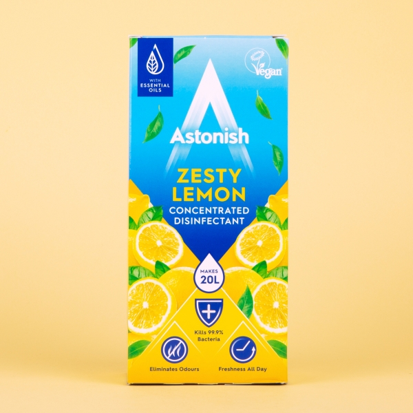 **NEW** Astonish Super Concentrated Disinfectant 500ml - Zesty Lemon