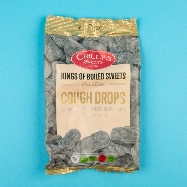 **NEW** Crilly's Cough Drops 150g