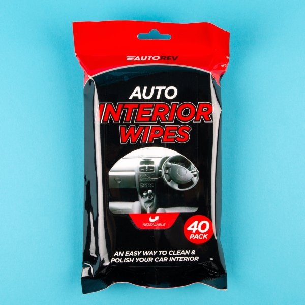 **NEW** Essential Car Interior Wipes 40pk