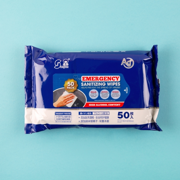 **NEW** High Alcohol Surface Sanitising Wipes 50pk