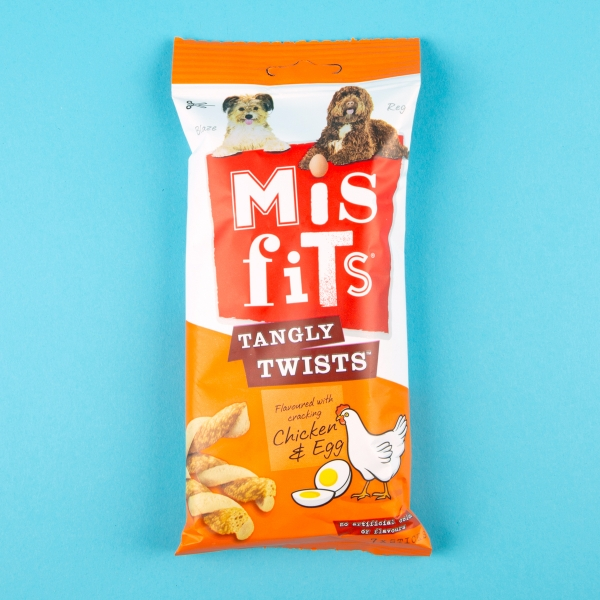 **NEW** Misfits Chicken & Egg Tangly Twists 7pk