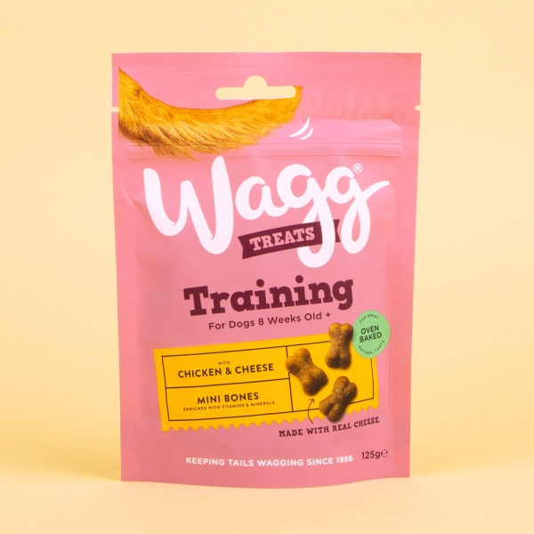 **NEW** Wagg Dog Training Treats 125g - Chicken & Cheese