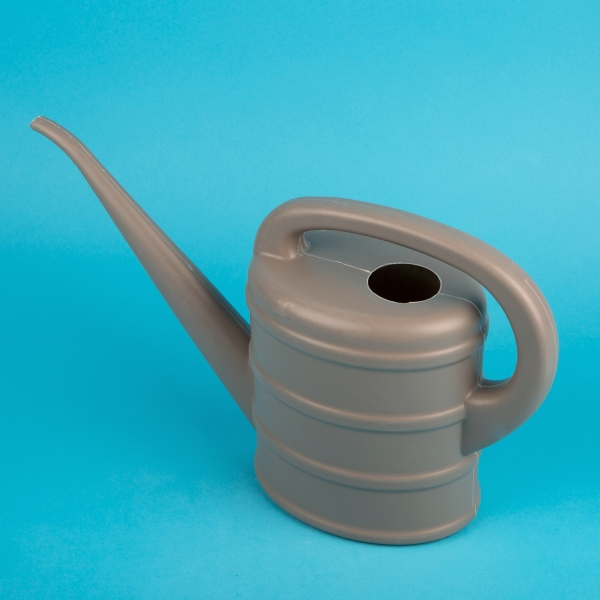 Plastic Watering Can 2L - Grey
