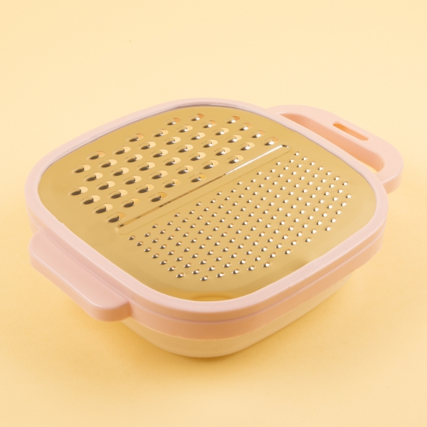 Easy Grip Food Grater & Container - Pink