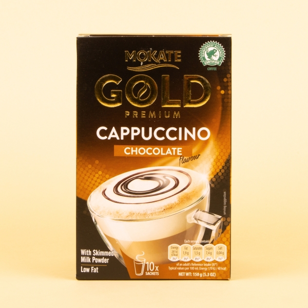 Mokate Gold Instant Coffee 10pk - Chocolate Cappuccino