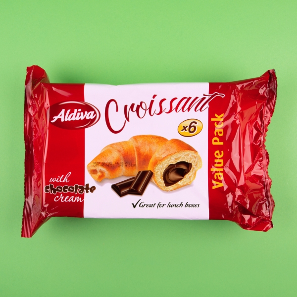 **NEW** Aldiva Chocolate Cream Croissants 6pk