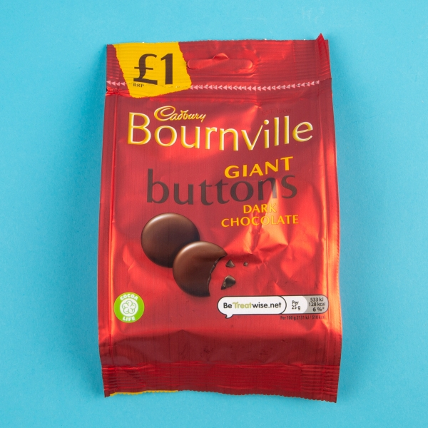 **NEW** Cadbury Bournville Giant Buttons 95g