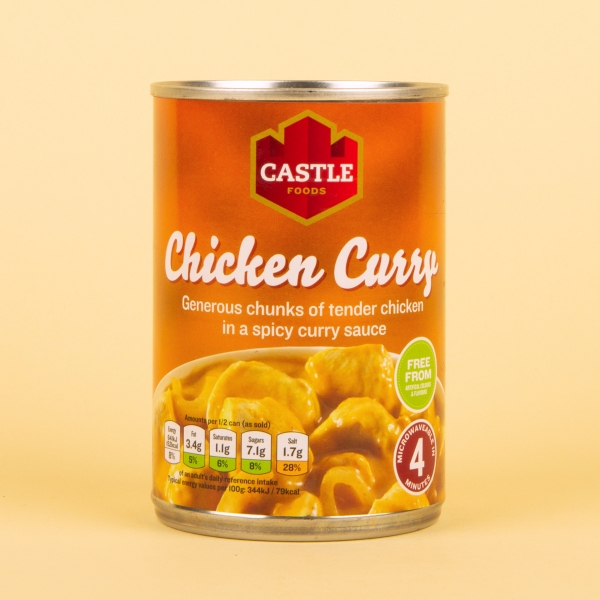 **NEW** Castle Foods Tinned Chicken Curry 385g