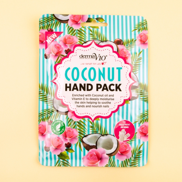**NEW** Derma V10 Coconut Hand Pack