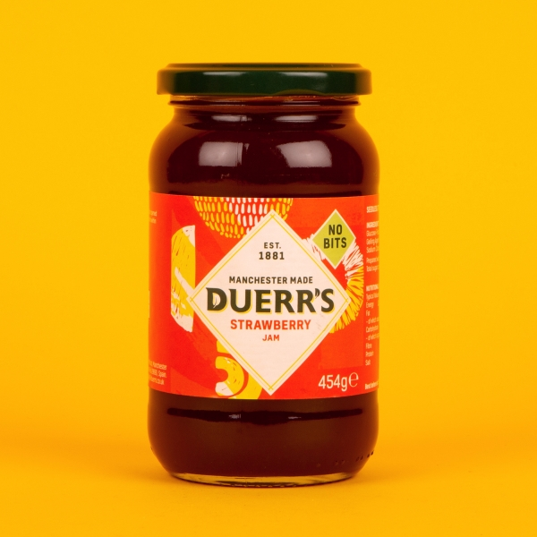 **NEW** Duerrs Strawberry Jam 454g