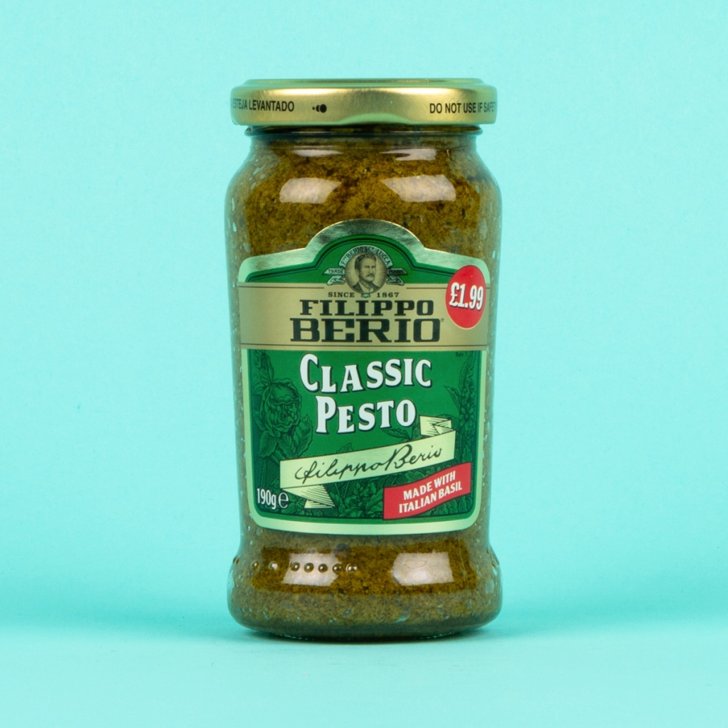 **NEW** Filippo Berio Classic Green Pesto 190g