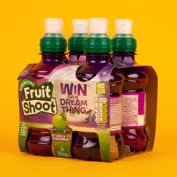 **NEW** Fruit Shoot Juice Drink 4pk - Apple and Blackcurrant