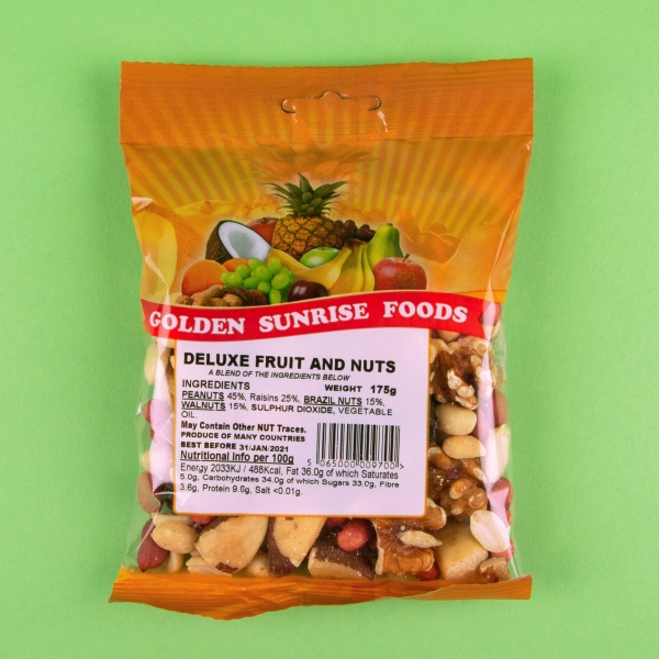 **NEW** Golden Sunrise Fruit and Nut Mix 175g