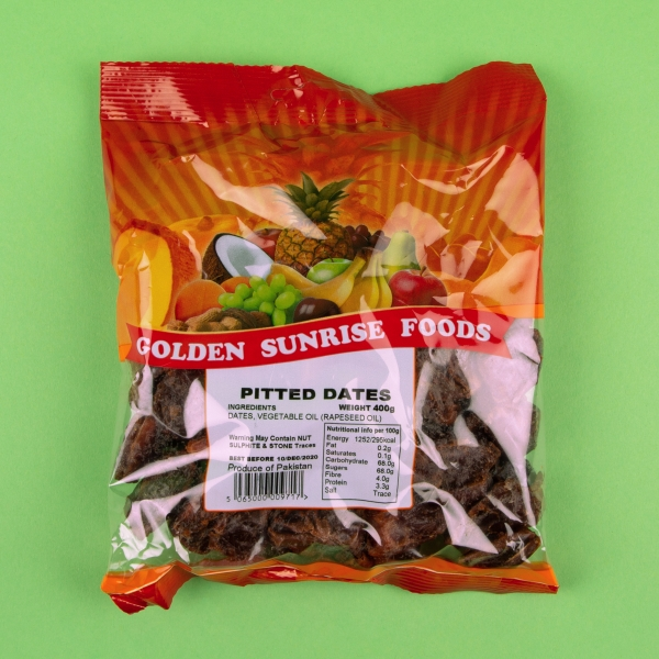 **NEW** Golden Sunrise Pitted Dates 400g
