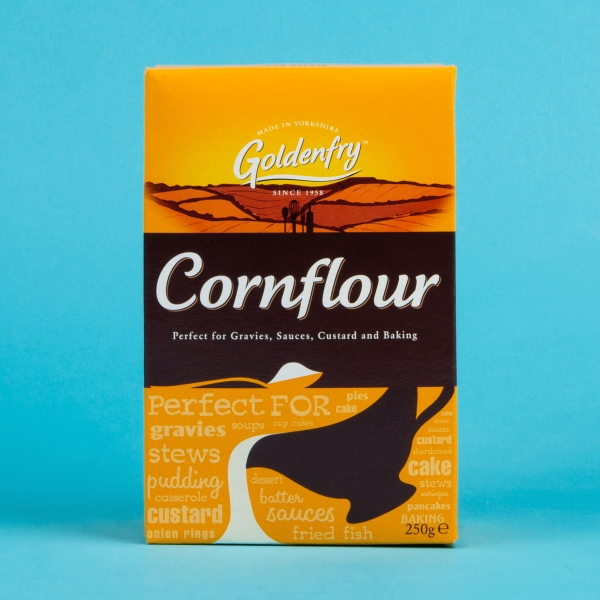 **NEW** Goldenfry Cornflour 250g