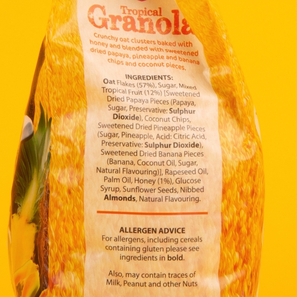 **NEW** Grain Tropical Granola 500g