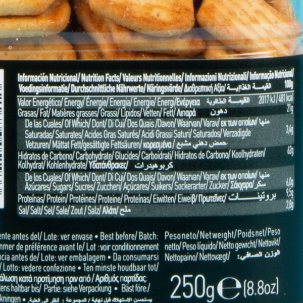 **NEW** Gullon Cheddar Cheese Crackers 250g