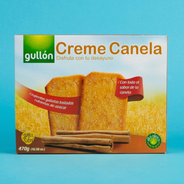 **NEW** Gullon Cinnamon Twists 10pk