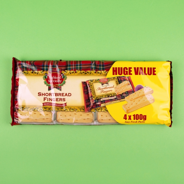 **NEW** Highland Speciality Shortbread Finers 400g