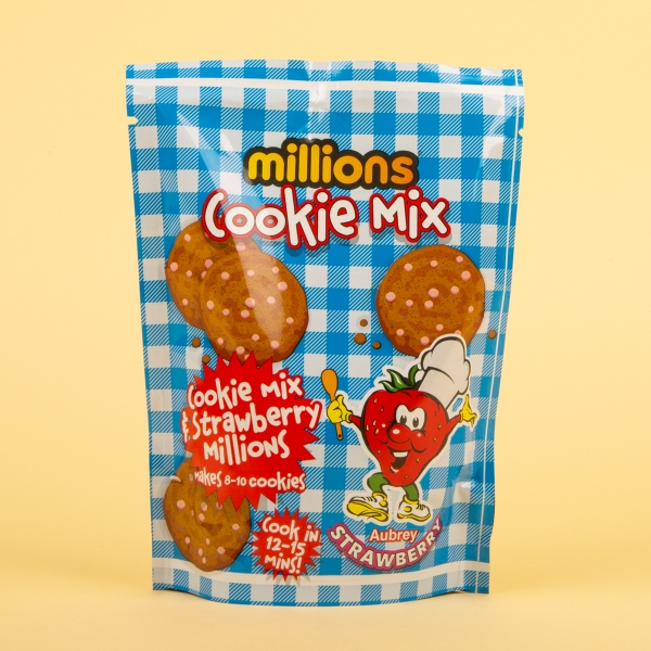 **NEW** Millions Cookie Mix 180g - Strawberry