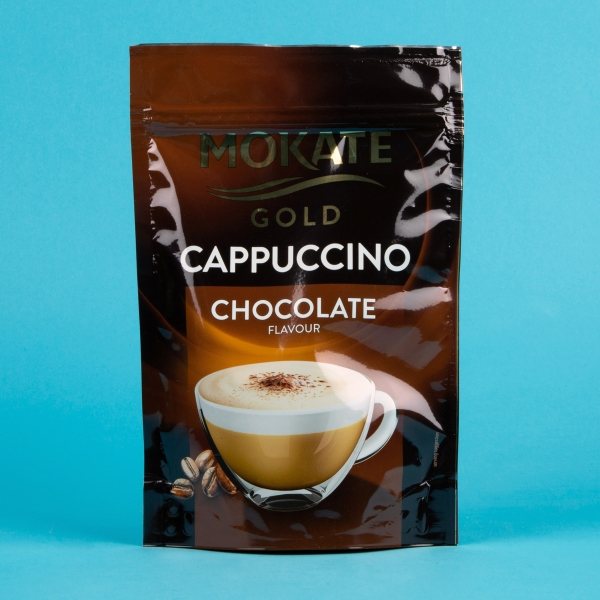 **NEW** Mokate Gold Instant Coffee Pouch 100g - Chocolate Cappuccino