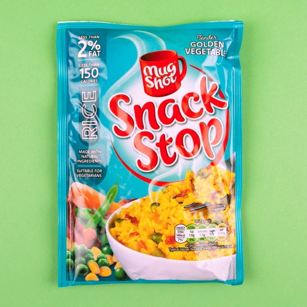 **NEW** Mug Shot Snack Stop Instant Rice 100g - Golden Vegetable