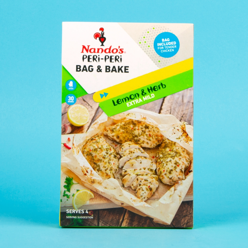 **NEW** Nandos Lemon & Herb Bag & Bake Sachet