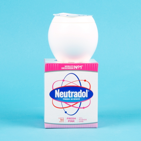 **NEW** Neutradol Fresh Pink Gel Power Orb 135g