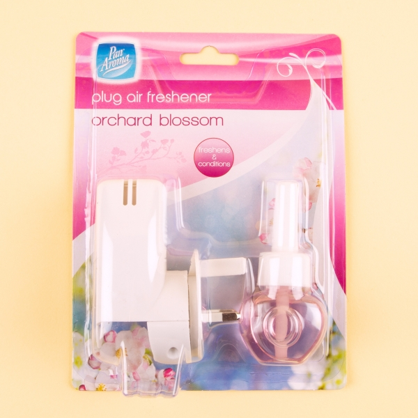 **NEW** Pan Aroma Plug In Air Freshener - Orchard Blossom